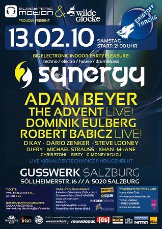 Synergy 2.0 @ Gusswerk Salzburg 13.02.10
