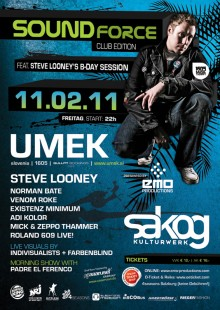 11.02.2011 – Sakog – SOUNDFORCE – club edition- with UMEK