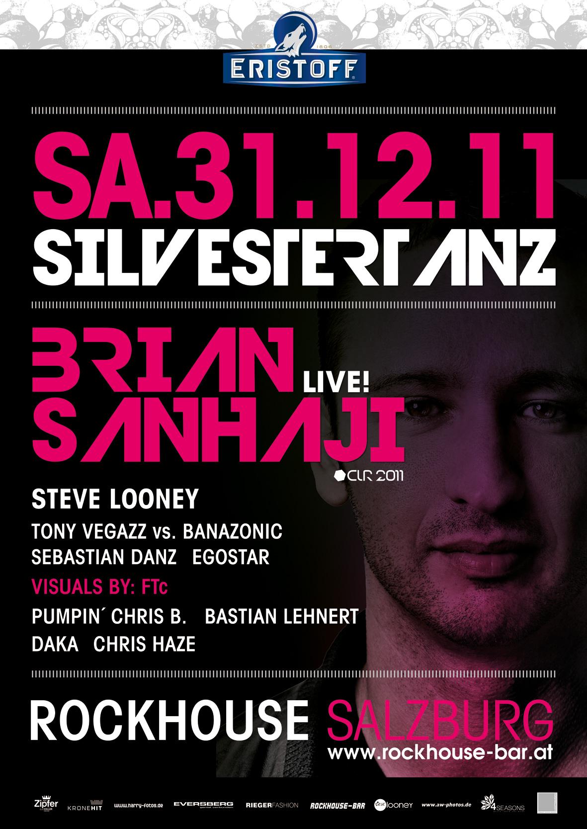 """SILVESTERTANZ"" 31.12.2011 @ ROCKHOUSE Salzburg"