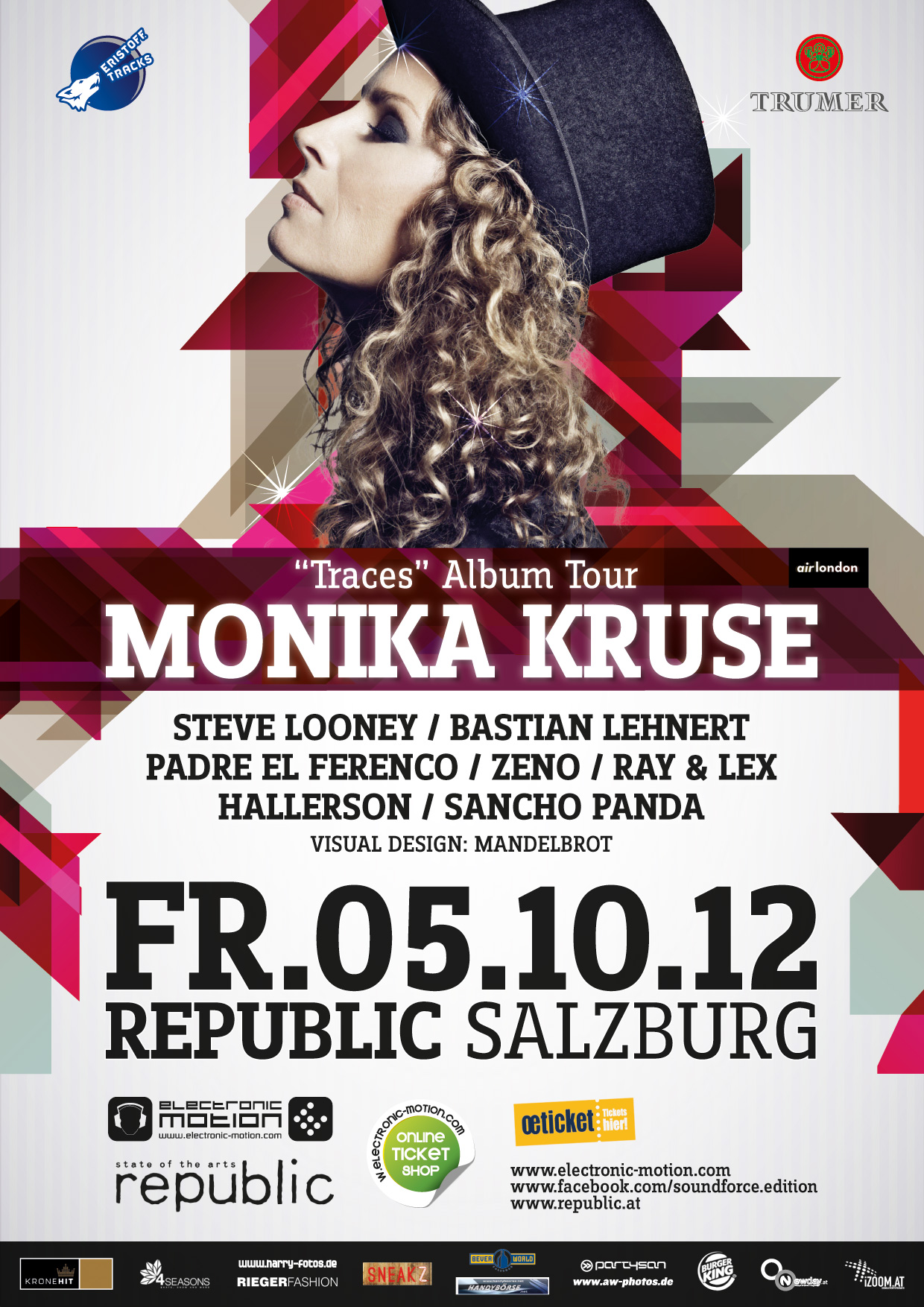 SOUNDFORCE -diamond edition- with Monika Kruse, 05.10.2012 @ Republic Salzburg