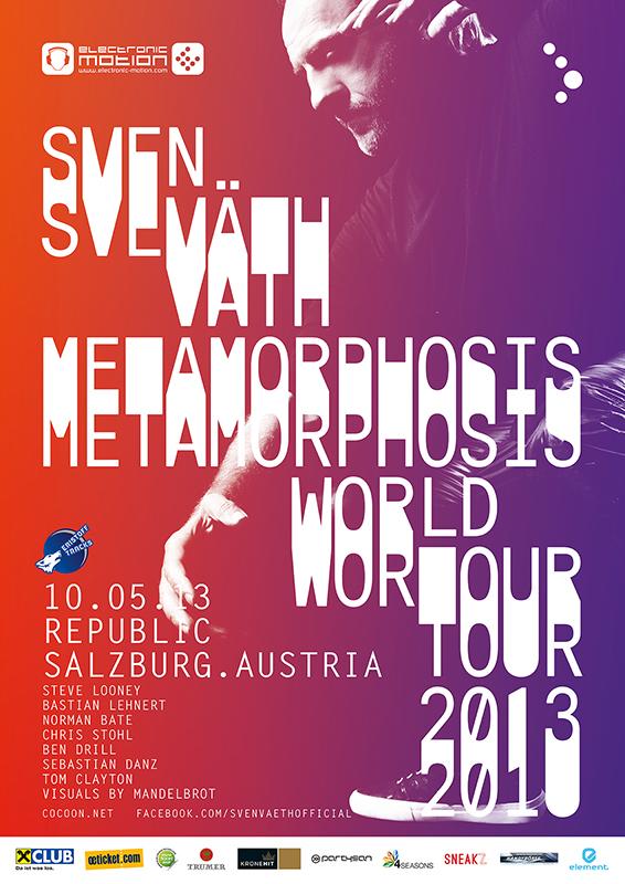 SVEN VÄTH, 10.05.2013 @ republic Salzburg